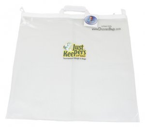 Just Keepers Zippered Weigh-In Bag (Clear)