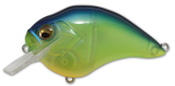 Megabass S-Crank 1.2 Biwako See Through Chartreuse