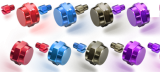 ZPI Color Handle Nut and Bolt - Daiwa - RIGHT - BLUE