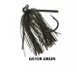 Queen Hammerhead Tungsten Rattling Jig 3/4 oz - Gator Green