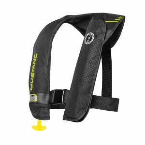 Mustang M.I.T. 100 Inflatable PFD (Automatic) - Black/ Green
