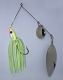 Ledge Hog Spinnerbait 1.5 oz. (Chartreuse)