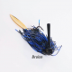 Swampers 1/2oz Swimming MJ Jig - Bruise