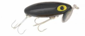 Arbogast Jitterbug Jointed Clicker (Black)