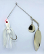 Ledge Hog Spinnerbait 1.5 oz. (White)