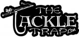 """The Tackle Trap.com"" Logo Sticker"