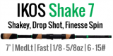 ALX 2019 IKOS Shake 7 - 7' Medium Light Fast Spinning