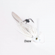 Swampers 1/2oz Swimming MJ Jig - Snow