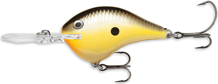 Rapala dt-10 dives to 10/' lure PGS Pearl Grey Shiner